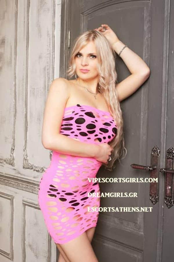 Russian Blond Escort Athens Valentina 2